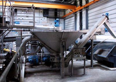 Mechanische Reinigung – Feinrechen / Fine-screen system