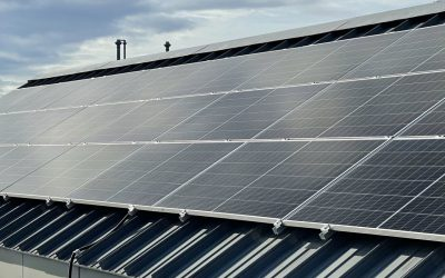 Photovoltaik Anlagen für das Klärwerk Steinhäule